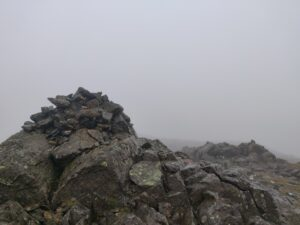 Grey Friar summit cairn